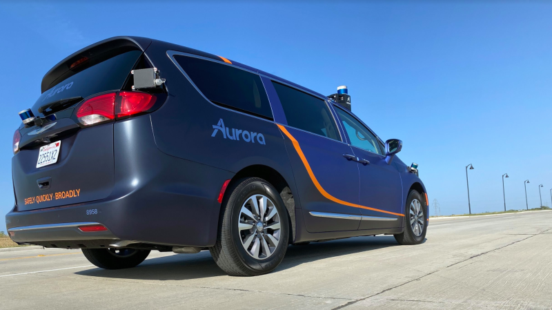 Aurora expands autonomous car and truck testing to Texas