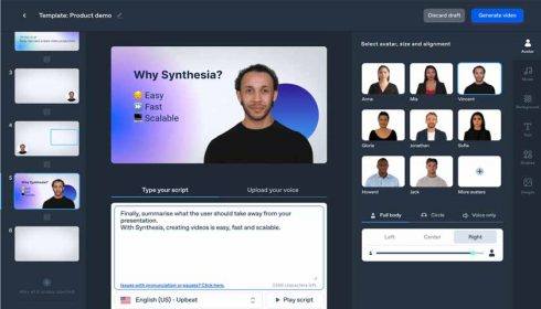AI video creation Synthesia raised $12.5 million