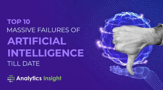 Top 10 massive failures of Artificial Intelligence till date