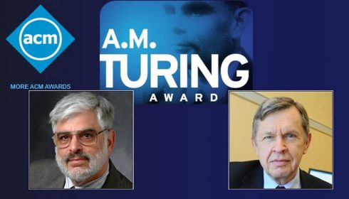 ACM named Alfred Vaino Aho and Jeffrey David Ullman recipients of the 2020 ACM A.M. Turing Award for fundamental algorithms and theory underlying programming language implementation