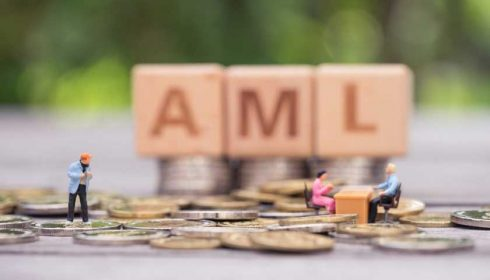 AML money and people graphic