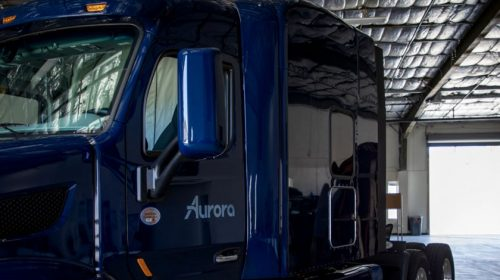 Aurora driverless trucks