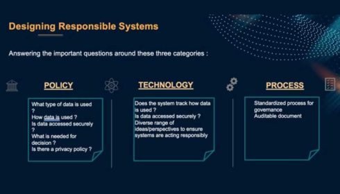 Designing responsible systems