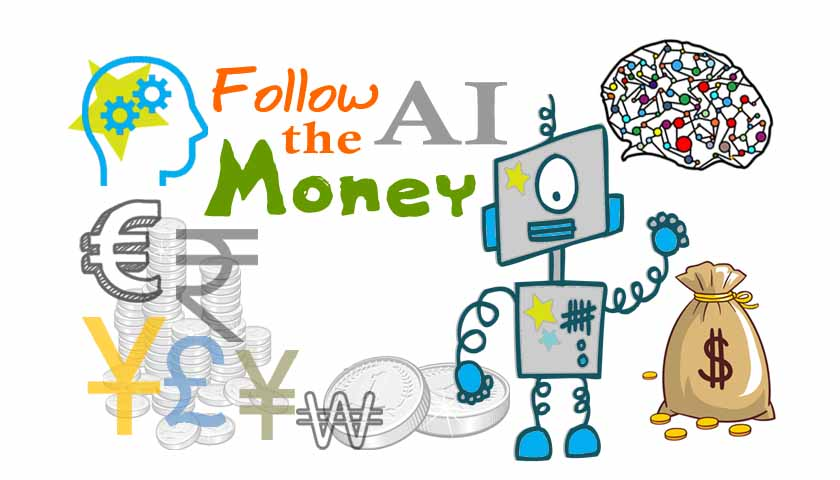Pye follow the Money March 2021 Machine Learning Funded Companies
