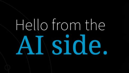 Hello from the AI side