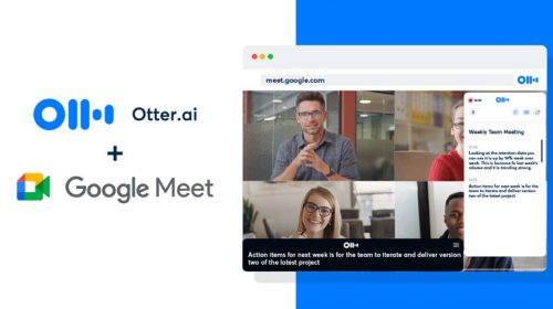 Otter AI and Google Meet