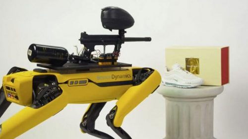 Paintball robot