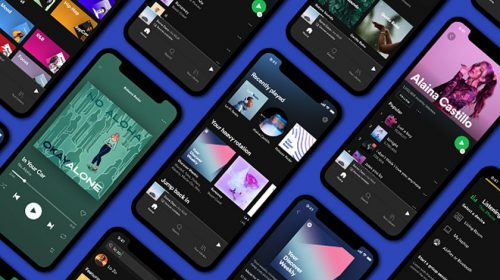 Phones with open music apps
