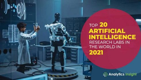 Top 20 AI tech labs 2021